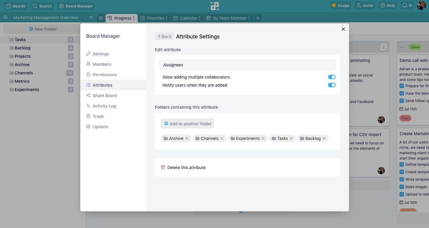 attribute-settings