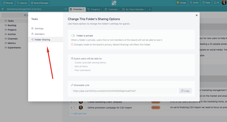 folder-sharing
